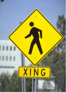 Street Crossing Sign