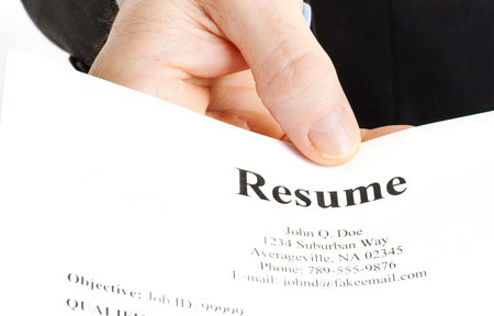 giving-resume