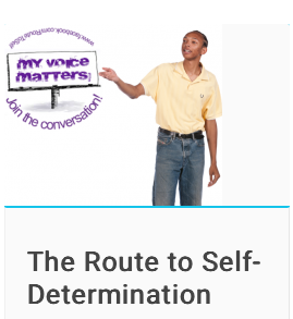 Route to Self-Determination course